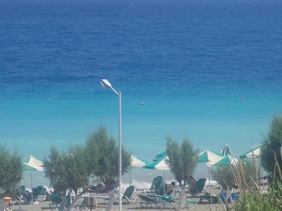 Bayside Hotel Katsaras: sea view