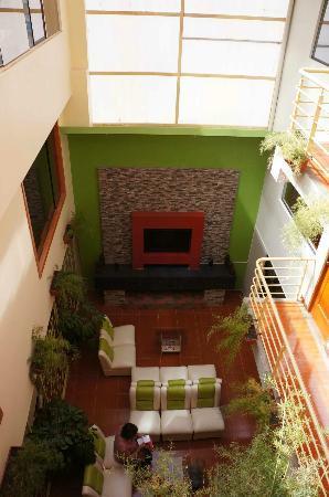 El Mariscal Cusco: Hall de l'Hôtel