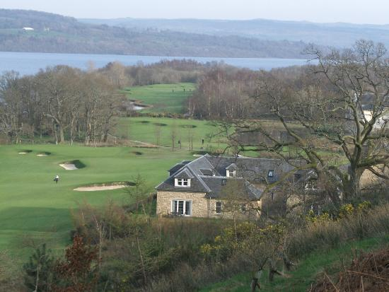 Cameron Lodges : view looking down over lodge