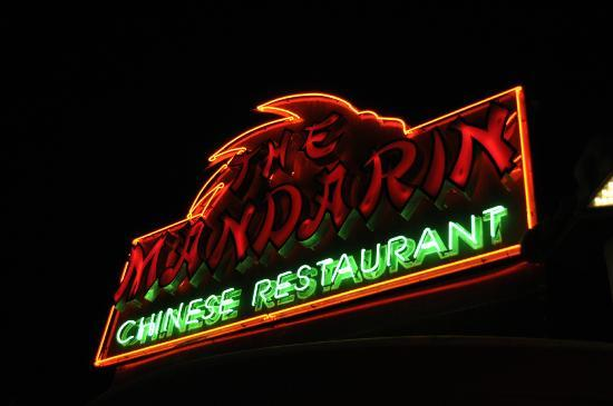 The Mandarin Restaurant: Comida boa.