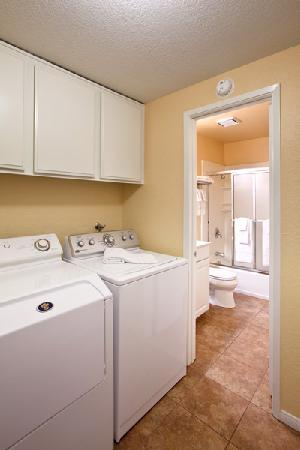 Lake Arrowhead Chalets: Washer & Dryer