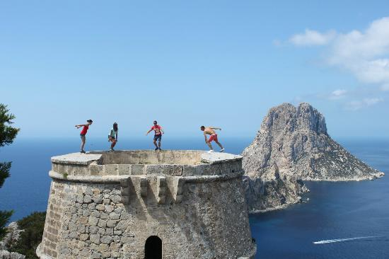 Es Vedra : tower