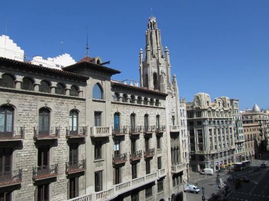 HCC Montblanc: Vue du 4ème étage