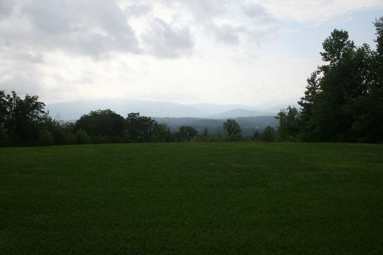 Christopher Place Resort: View from the back veranda