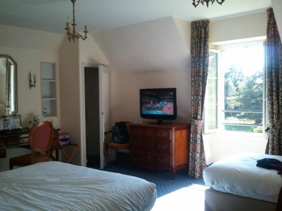 Hotel La Ferriere: Triple room