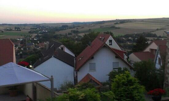 Restaurant Hotel Kollektur: Aussicht von der Terrasse