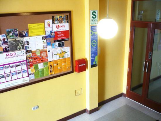 Muchik Hostel: Lobby