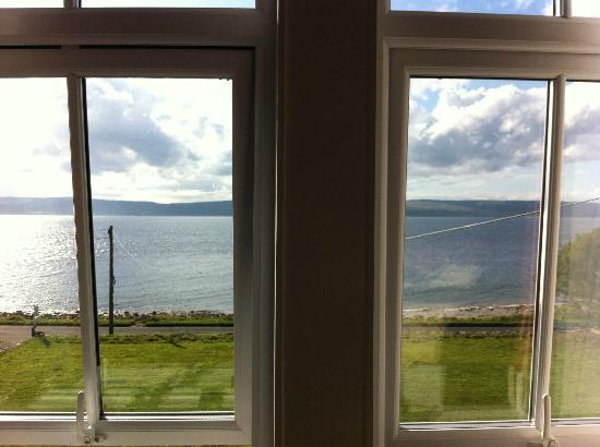 Clisham B&B: View from double room