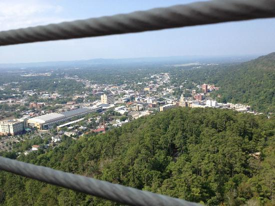 Baymont Inn & Suites Hot Springs : View of Hot Springs from Observation Tower