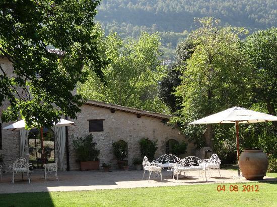 Borgo della Marmotta: Vue de l'accueil