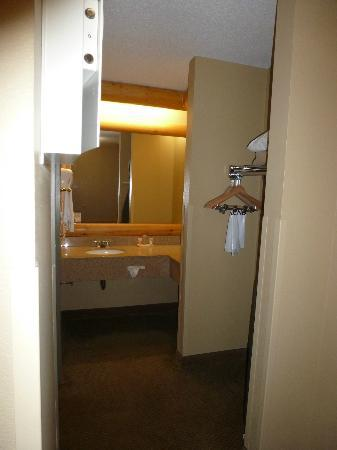 Great Wolf Lodge: one off two bathrooms in our suite