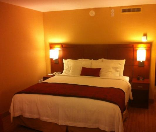 Courtyard by Marriott Albany Thruway: Bed