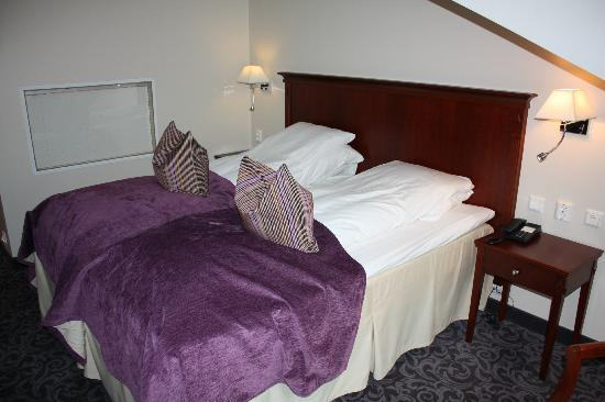 Hotel Ullensvang: The bed