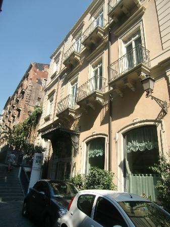 Il Principe Hotel: View from the Street