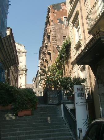 Il Principe Hotel: View from theStreet