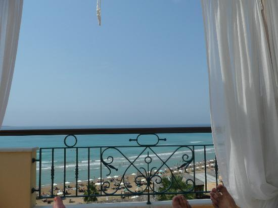 Delfino Blu Boutique Hotel: Balcony of honeymoon suite