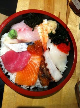 Michie Sushi : Chirashi sushi