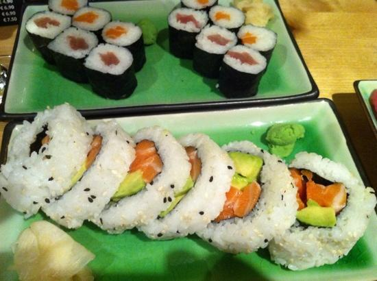 Michie Sushi : Alaska roll made in heaven