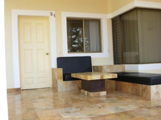 Cosala Grand Boutique Resort & Spa: Room terrace