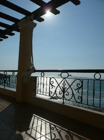 Delfino Blu Boutique Hotel: View from balcony