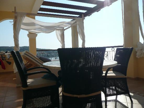 Delfino Blu Boutique Hotel: Balcony