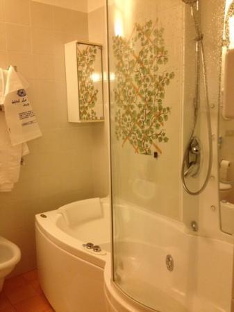Hotel la Bussola: il bagno