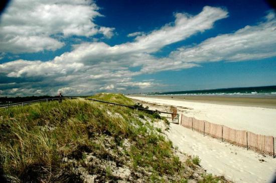 Ogunquit Beach: THE BEACH looking north