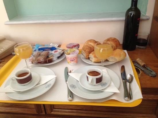 Hotel la Bussola: la colazione in camera