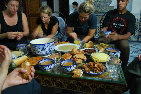 Dar el Yasmine : eating diner