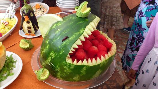 Decorazioni Buffet Frutta : Decorazione di frutta bild von hotel bella romagna miramare