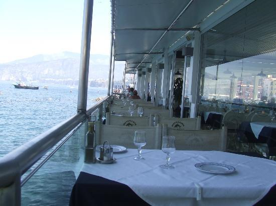 Restaurant terrace picture of ristorante bagni delfino sorrento