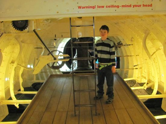 Inside the small submarine - Picture of Royal Navy Submarine Museum