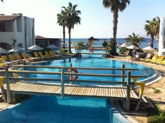 Ortakent, Turquía: vue du restaurant