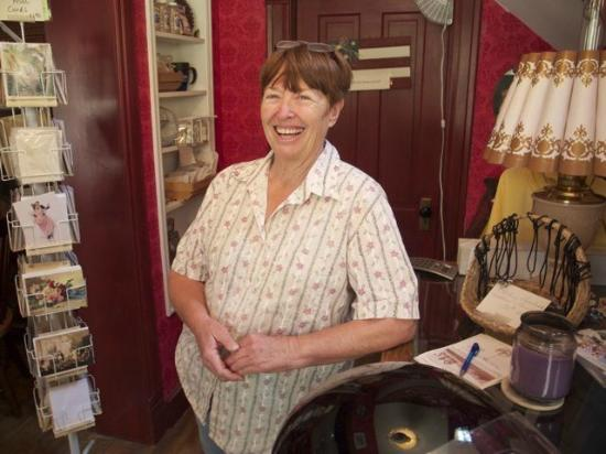 Greyhouse Inn Bed and Breakfast: owner, Sharon Osgood