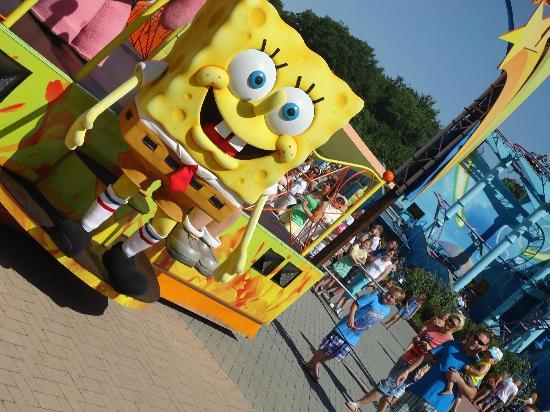 Movie Park Germany: Spongebob