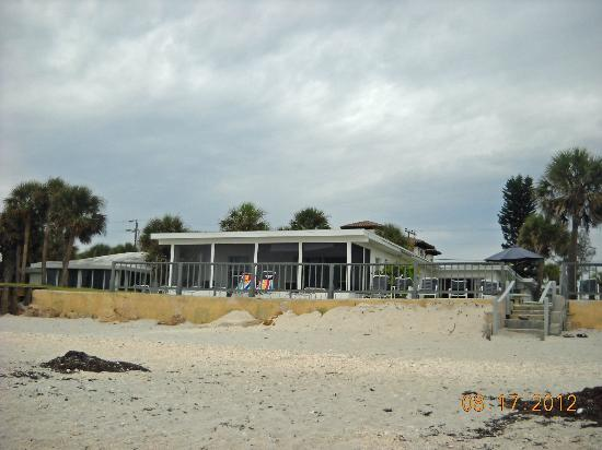 Gulf Surf Motel: North side of the motel