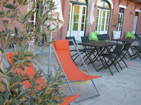 This is Lisbon Hostel: Terrace