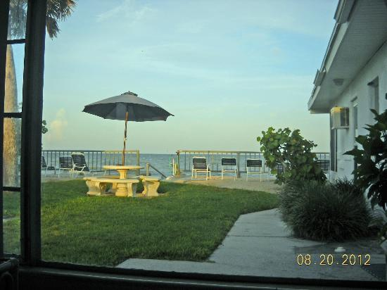 Gulf Surf Motel: Our gulf view