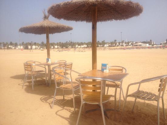 Beach Cafe: Heaven
