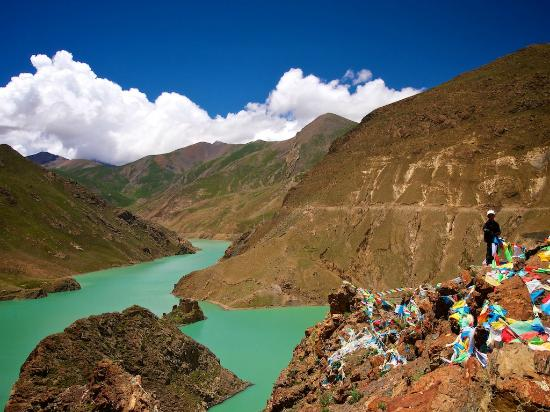Gyangze County, China: Manla Reservoir