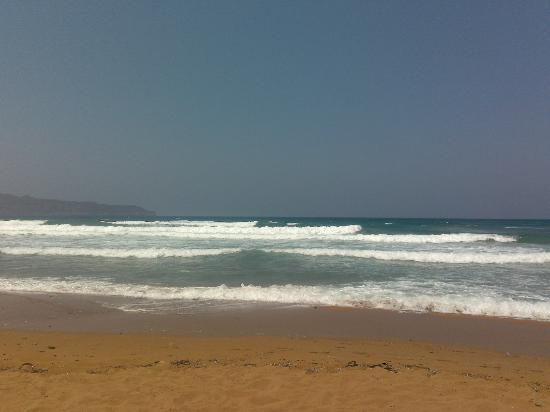 Alkion Hotel: Beach