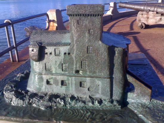 Castello di Rapallo : Castello in miniatura (sulla passeggiata)