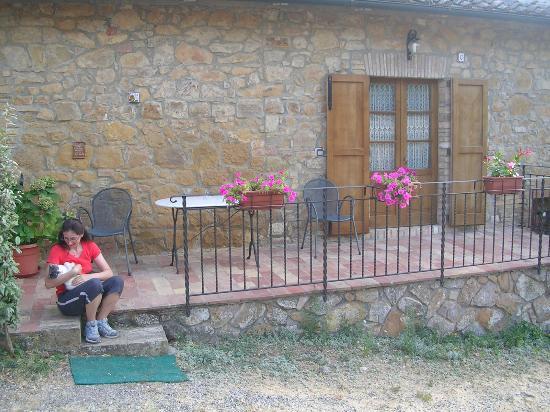 Agriturismo La Buca : Ingresso camera