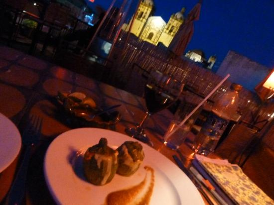 Meal With A View Picture Of Casa Crespo Restaurant Oaxaca