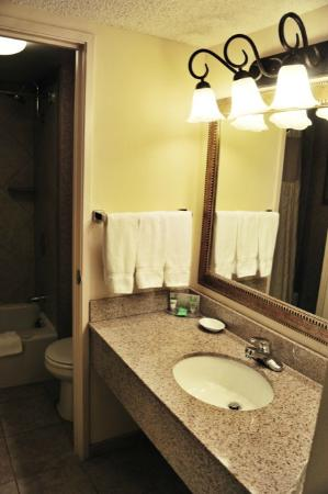 Red Lion Hotel Seattle Airport: salle de bain