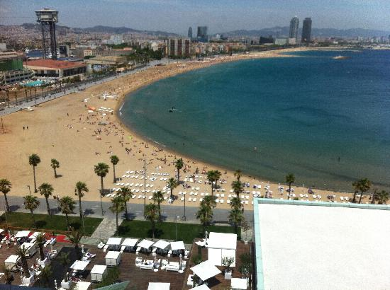 Pool and barcelonetta beach view from w room picture of for Pool show barcelona