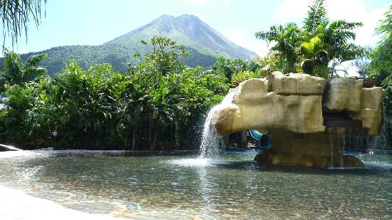Baldi Hot Springs Hotel Resort & Spa : Magnifica Vista del Majestuoso Volcán Arenal