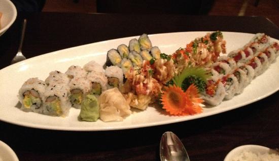 Thai Korner: fabulous sushi platter