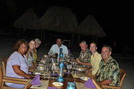 Turtle Island Resort: Night Dinner