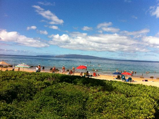 Days Inn Maui Oceanfront: From room to shoreline in 30 seconds
